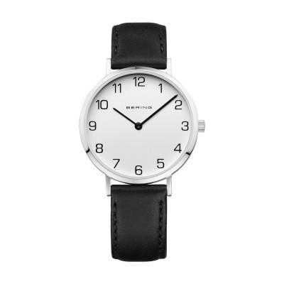 Reloj Bering Classic 13934-404 Mujer Esfera Blanca Correa Piel